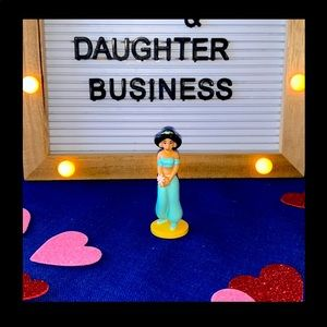 Disney Aladdin Jasmine Toy Cake Topper Mini
